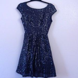 Shimmering Sequins Dress